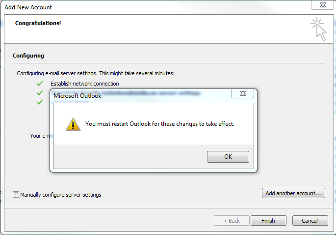 Set up NMBU-email in existing Outlook | NMBU-SUPPORT